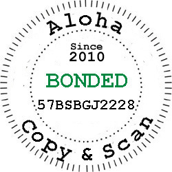 Aloha is Bonded Learn More Here